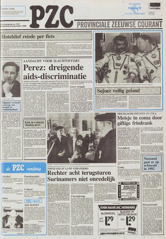 Provinciale Zeeuwse Courant 1988-09-08