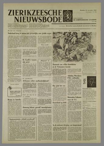 Zierikzeesche Nieuwsbode 1965-11-22