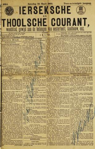 Ierseksche en Thoolsche Courant 1905-03-25