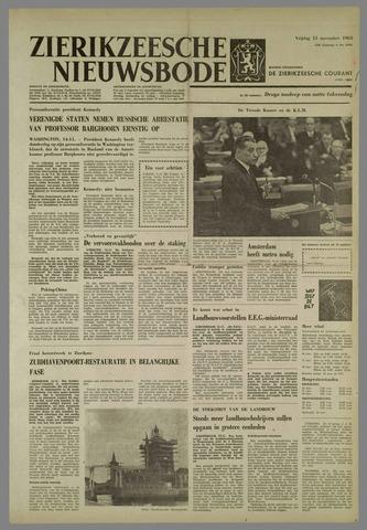 Zierikzeesche Nieuwsbode 1963-11-15