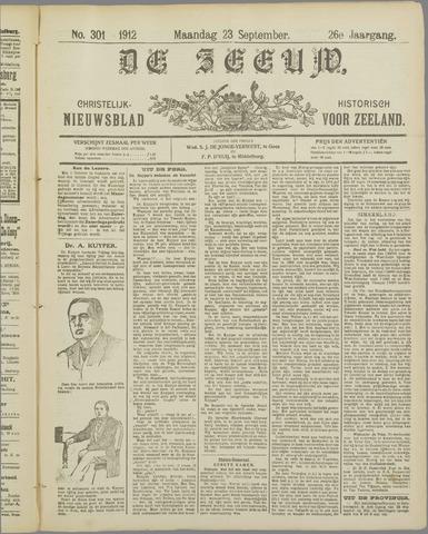 De Zeeuw. Christelijk-historisch nieuwsblad voor Zeeland 1912-09-23