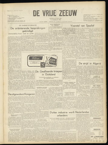 de Vrije Zeeuw 1956-07-17