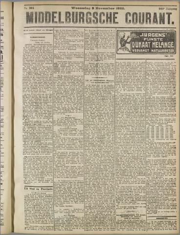 Middelburgsche Courant 1922-11-08