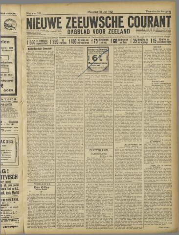 Nieuwe Zeeuwsche Courant 1921-07-18
