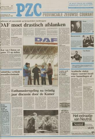 Provinciale Zeeuwse Courant 1993-02-03