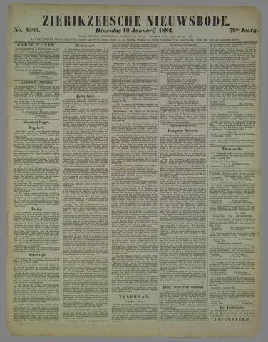 Zierikzeesche Nieuwsbode 1882-01-10