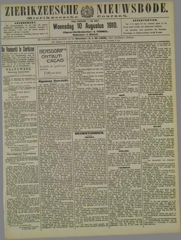 Zierikzeesche Nieuwsbode 1910-08-10