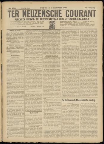 Ter Neuzensche Courant. Algemeen Nieuws- en Advertentieblad voor Zeeuwsch-Vlaanderen / Neuzensche Courant ... (idem) / (Algemeen) nieuws en advertentieblad voor Zeeuwsch-Vlaanderen 1935-12-04