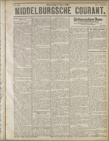 Middelburgsche Courant 1921-05-07
