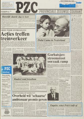 Provinciale Zeeuwse Courant 1986-05-15