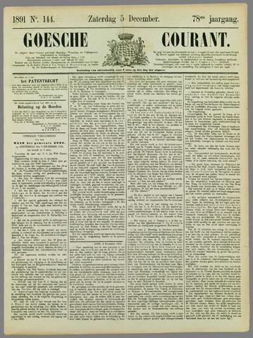 Goessche Courant 1891-12-05