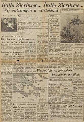Watersnood documentatie 1953 - kranten 1953-04-16