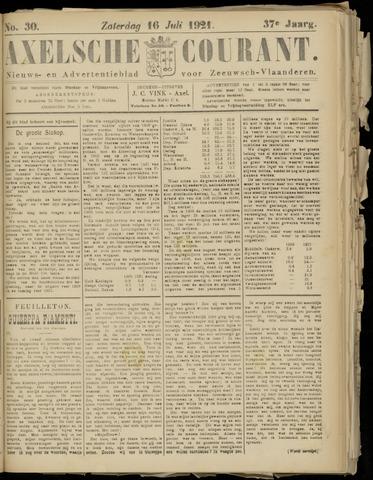 Axelsche Courant 1921-07-16