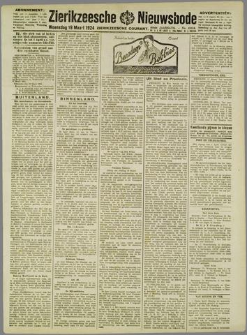 Zierikzeesche Nieuwsbode 1924-03-19