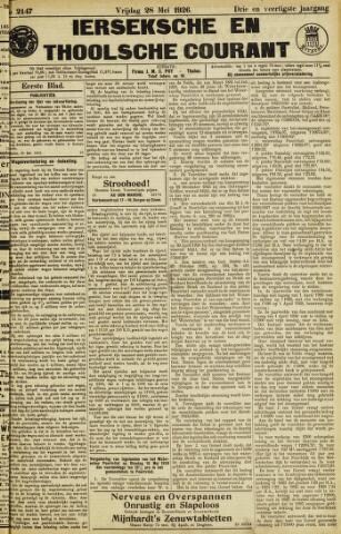 Ierseksche en Thoolsche Courant 1926-05-28