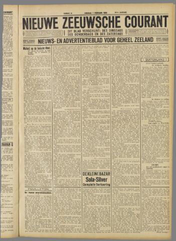 Nieuwe Zeeuwsche Courant 1933-02-07