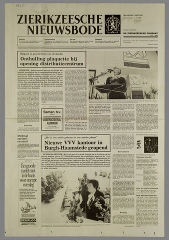 Zierikzeesche Nieuwsbode 1988-05-02