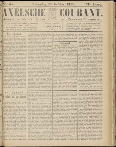 Axelsche Courant 1911-10-11