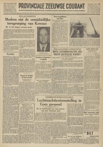 Provinciale Zeeuwse Courant 1952-10-04