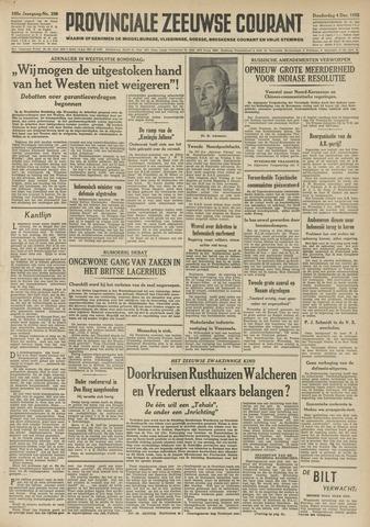 Provinciale Zeeuwse Courant 1952-12-04