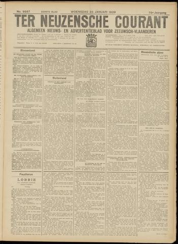 Ter Neuzensche Courant. Algemeen Nieuws- en Advertentieblad voor Zeeuwsch-Vlaanderen / Neuzensche Courant ... (idem) / (Algemeen) nieuws en advertentieblad voor Zeeuwsch-Vlaanderen 1939-01-25