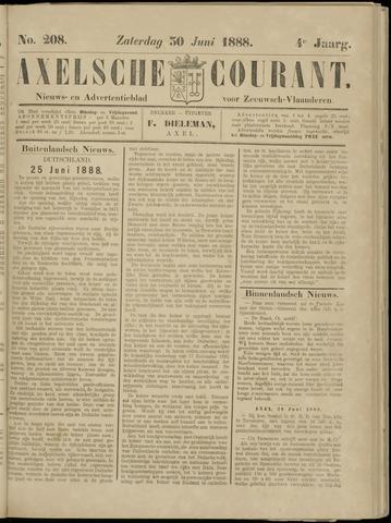 Axelsche Courant 1888-06-30
