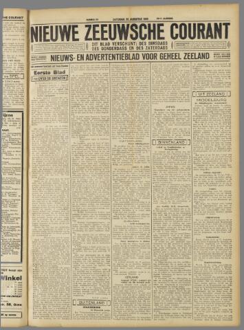 Nieuwe Zeeuwsche Courant 1933-08-26