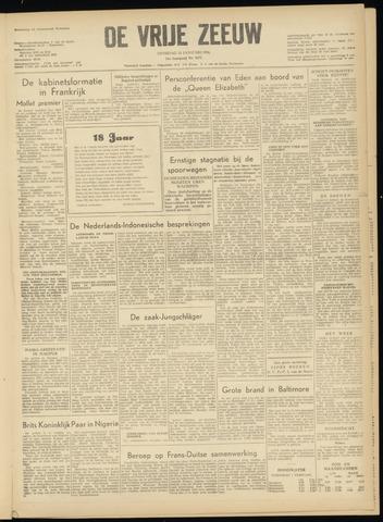 de Vrije Zeeuw 1956-01-31