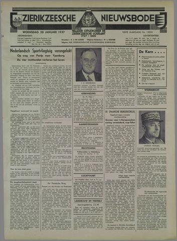Zierikzeesche Nieuwsbode 1937-01-20