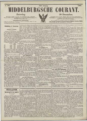 Middelburgsche Courant 1901-12-28