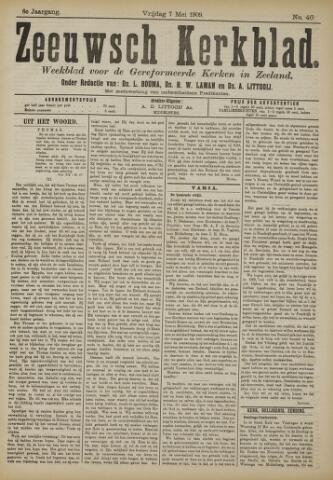 Zeeuwsche kerkbode, weekblad gewijd aan de belangen der gereformeerde kerken/ Zeeuwsch kerkblad 1909-05-07
