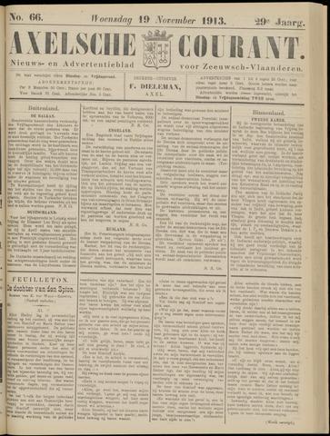 Axelsche Courant 1913-11-19