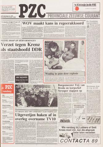 Provinciale Zeeuwse Courant 1989-10-25