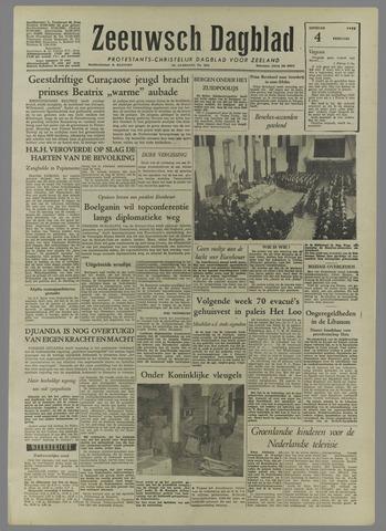 Zeeuwsch Dagblad 1958-02-04
