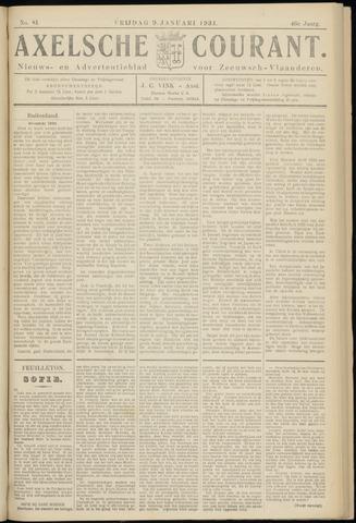 Axelsche Courant 1931-01-09