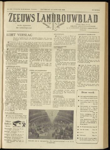 Zeeuwsch landbouwblad ... ZLM land- en tuinbouwblad 1960-01-23
