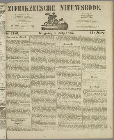 Zierikzeesche Nieuwsbode 1855-07-03