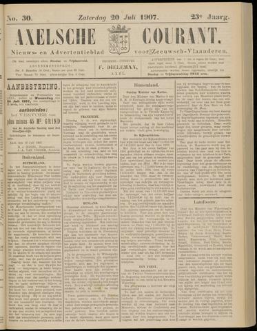 Axelsche Courant 1907-07-20