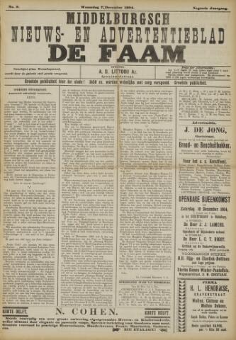 de Faam en de Faam/de Vlissinger 1904-12-07