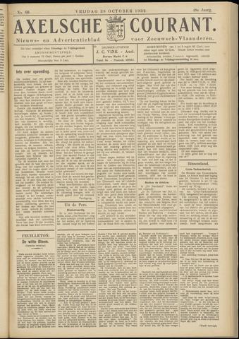 Axelsche Courant 1932-10-28