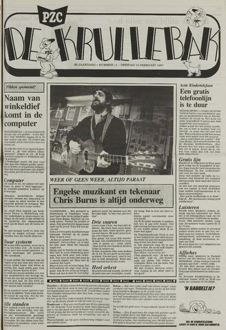 Provinciale Zeeuwse Courant katern Krullenbak (1981-1999) 1987-02-10