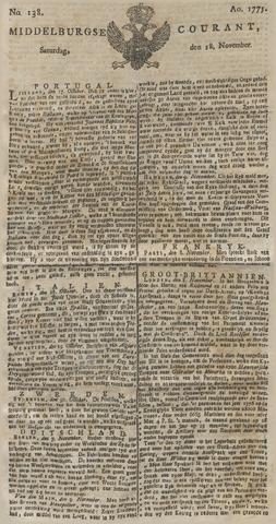 Middelburgsche Courant 1775-11-18
