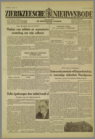 Zierikzeesche Nieuwsbode 1959-04-16