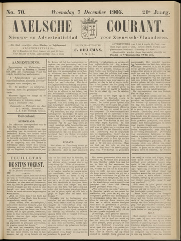 Axelsche Courant 1905-12-06