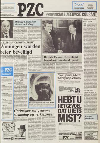 Provinciale Zeeuwse Courant 1987-01-28