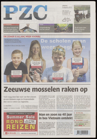 Provinciale Zeeuwse Courant 2013-08-09