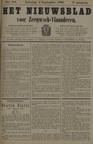 Nieuwsblad voor Zeeuwsch-Vlaanderen 1899-09-02