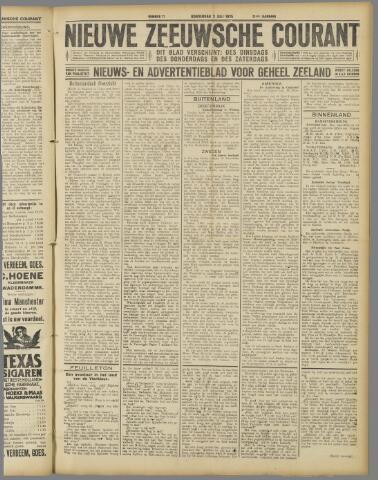 Nieuwe Zeeuwsche Courant 1925-07-02