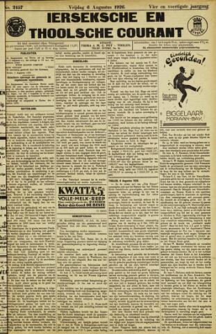 Ierseksche en Thoolsche Courant 1926-08-06
