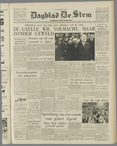 de Stem 1958-05-20